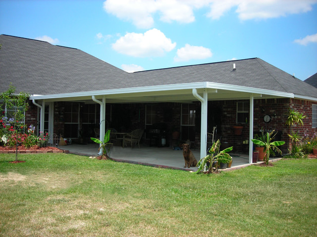 Backyard Enclosures patio covers | screen rooms | glass enclosures - traditional - patio