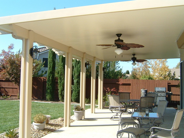 Marvelous Patio Covers Traditional Patio