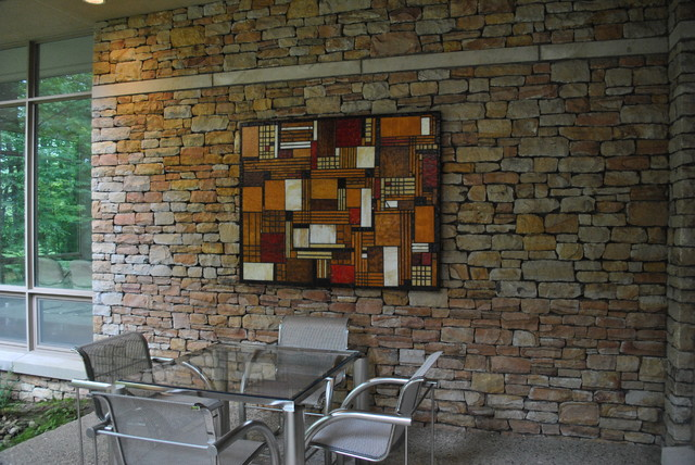 Charmant Patio Craftsman Art Eclectic Patio