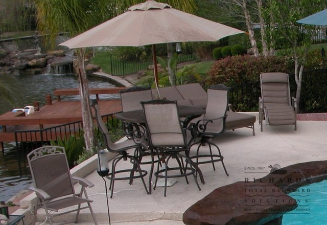 Patio Furniture Patio houston by Richard s Total