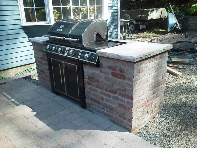Patio Grill Enclosure