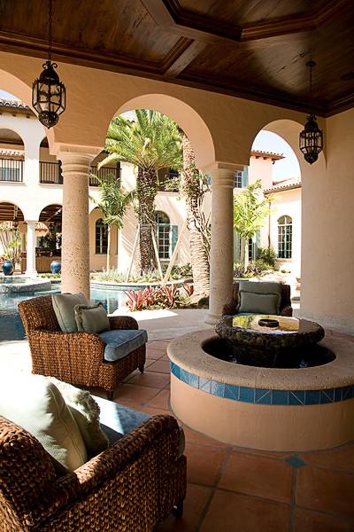 JUPITER,FLORIDA PROJECT #1 mediterranean-patio