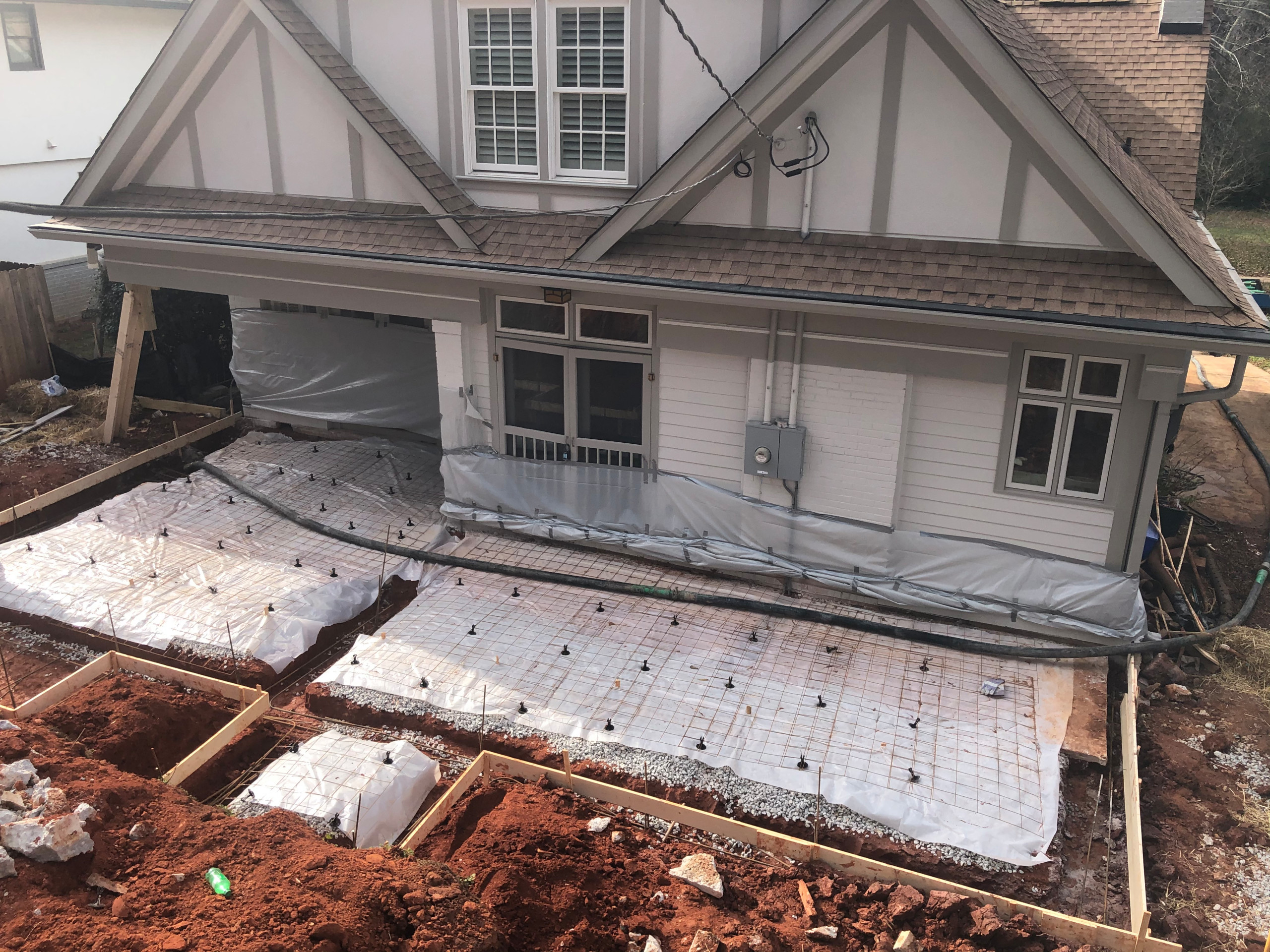 Patio, Porch & Fireplace Project in Avondale Estates