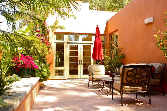 mediterranean patio by Shannon Malone