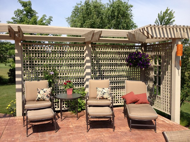 Charmant Patio Trellis