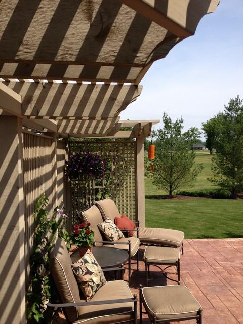 Patio Trellis traditional-patio