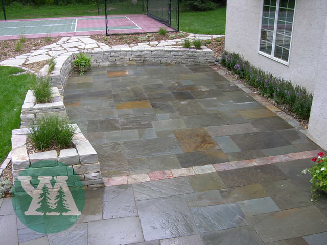 Patio walkways driveways natural stone traditional Natural stone walkways