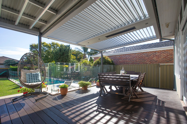 High Quality Patioland Eclipse Opening Roof San Souci Beach Style Patio