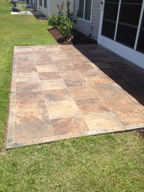 Patios Traditional Patio Other By Floor Coverings International Coast