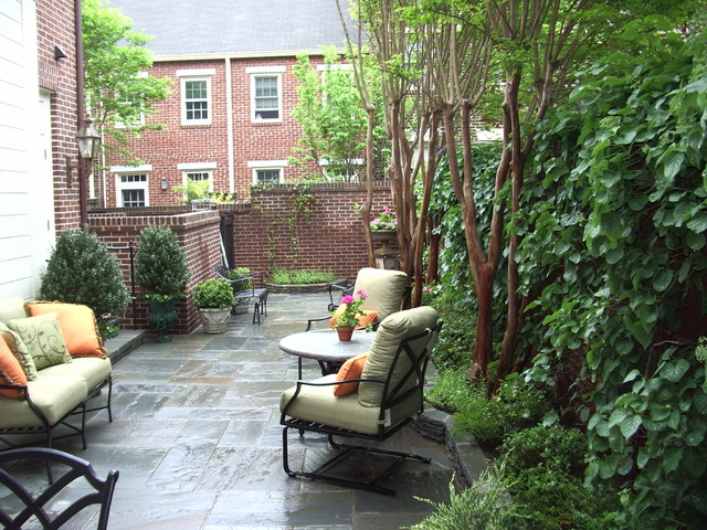 traditional patio by Notting Hill Gardens | Design Build Construction