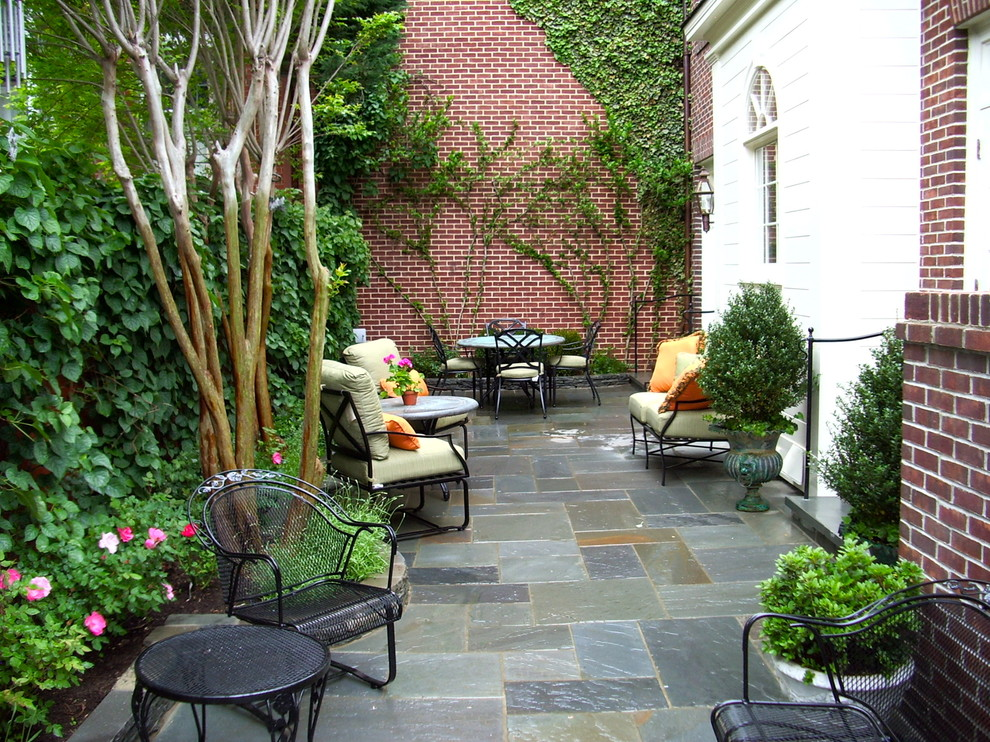 Inspiration for a timeless patio remodel in DC Metro with no cover