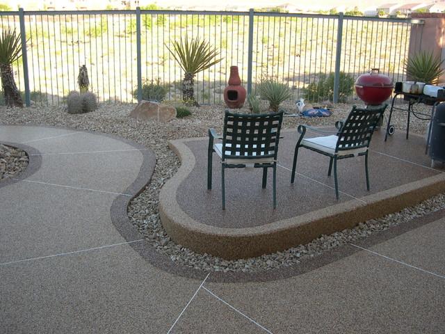 Patios Traditional Patio Las Vegas By Pebble Stone