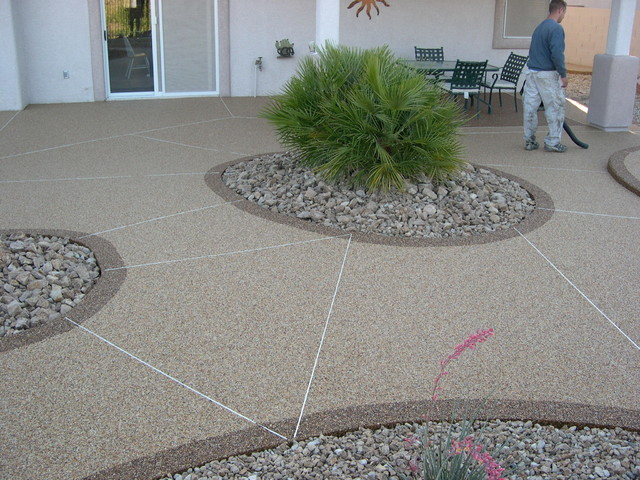Patios Traditional Patio Las Vegas By Pebble Stone