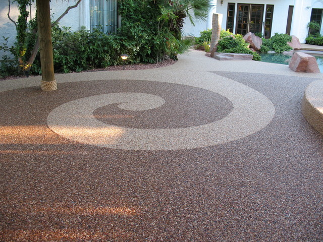 ideas for covering concrete patio concrete stain a patio ideas for covering concrete patios american hwy - Cover Concrete Patio Ideas