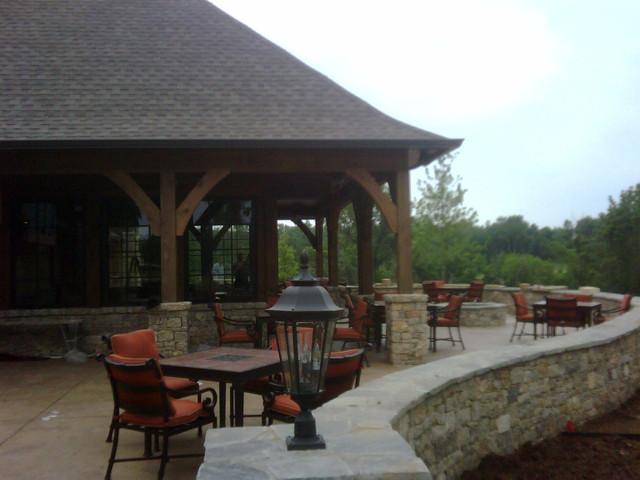 Patriot Golf Course traditional-patio