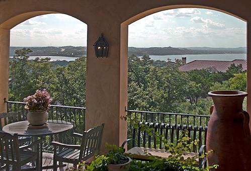 Patton Residence mediterranean-patio