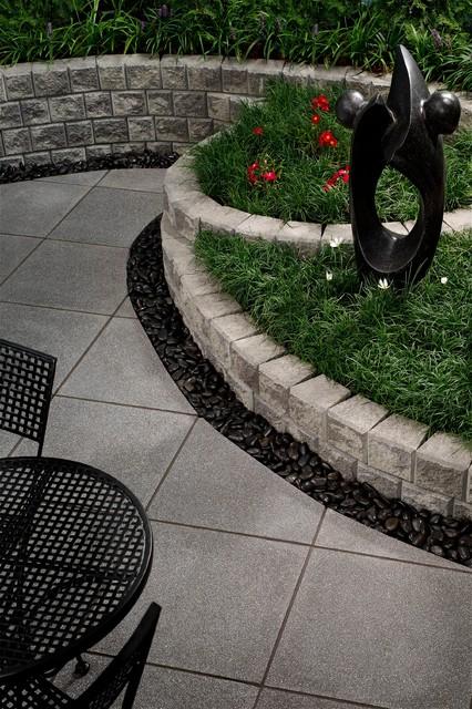 Paved Courtyard Ideas Modern Patio Auckland By Through The Garden Gate Ltd