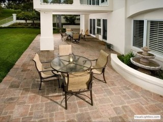 Paver Choices mediterranean patio