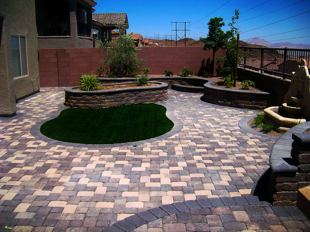 Paver Installations Contemporary Patio