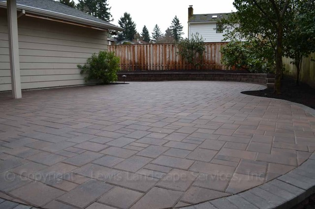 Backyard Paver Designs Model Photos Design Ideas