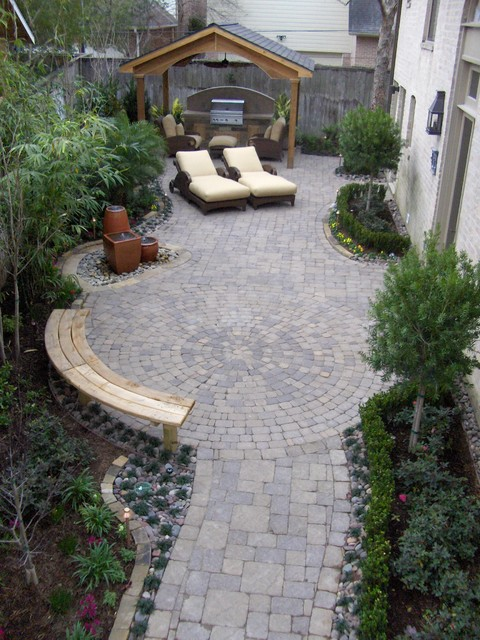 Patio Pavers Houston : Paver patios traditional patio houston by bellaire pavers