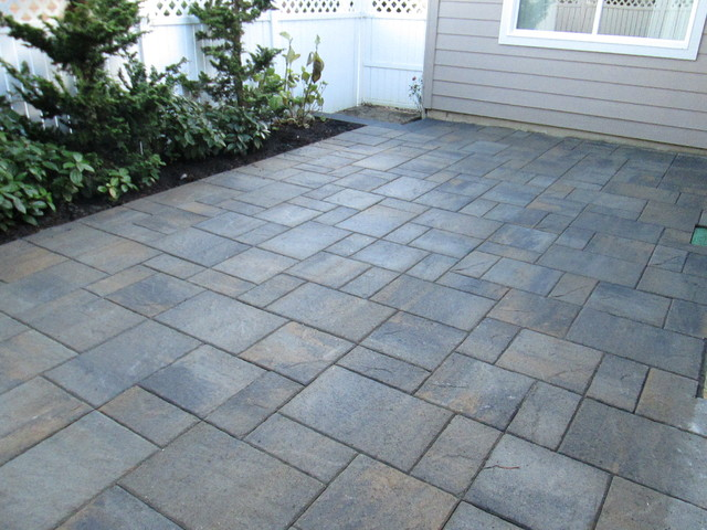 paver patios interlocking concrete pavers contemporary