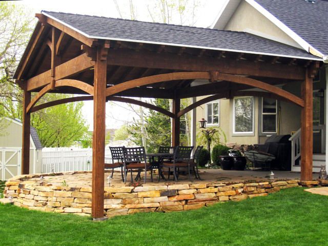 Superieur Pavilion For Outdoor Dining U0026 Gazebo Shade Cover For Hot Tub ...