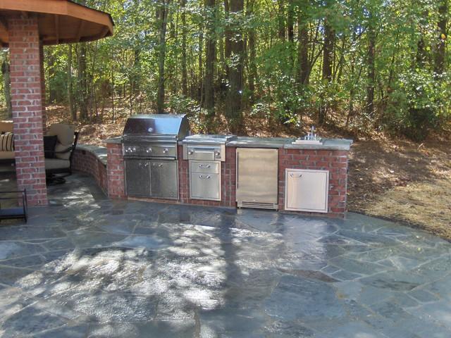 Payne Hardscape, Landscape Project traditional-patio