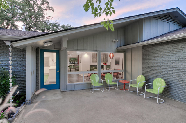 PBH Keith Heights Midcentury Exterior Other By