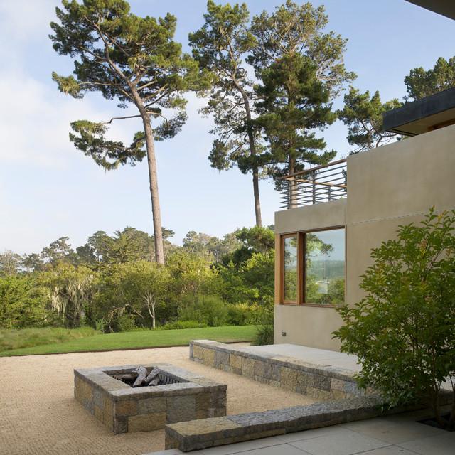 Pebble Beach Estate contemporary-patio