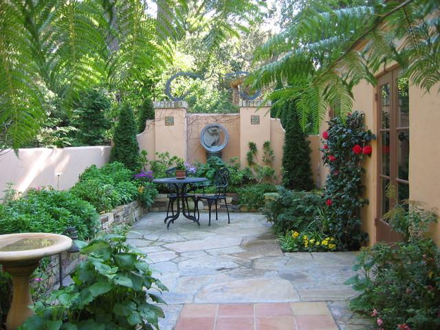 Pebble beach landscapes mediterranean patio other for Garden design ideas sydney