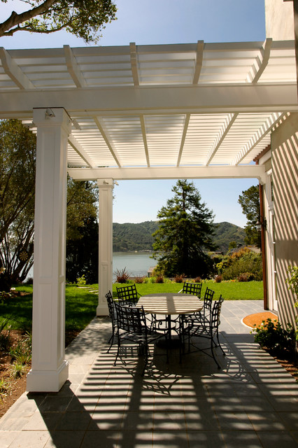 Pedersen Associates - Residential - Tiburon, CA traditional patio