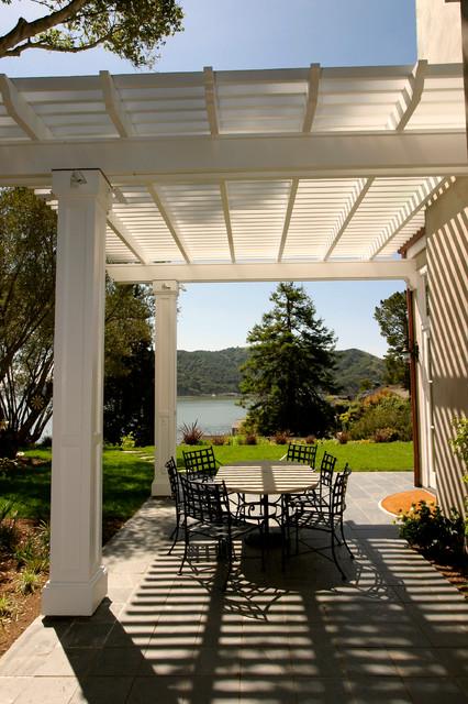 Pedersen Associates - Residential - Tiburon, CA traditional-patio