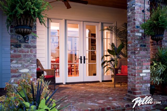 Pella 174 Architect Series 174 Hinged Patio Doors Open Design