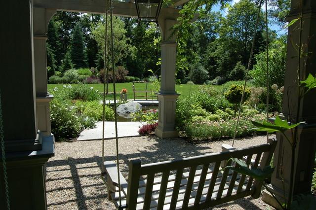 Pergola Garden traditional-patio