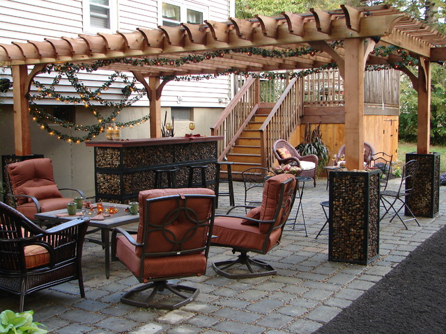 pergola on diy network indoors out boston gabion garden. Black Bedroom Furniture Sets. Home Design Ideas