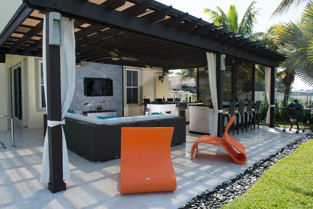 Pergola Project Contemporary Patio Miami By Luxapatio
