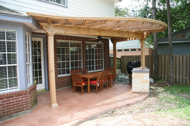 Traditional Patio In Houston. Email Save. Affordable Shade Patio Covers