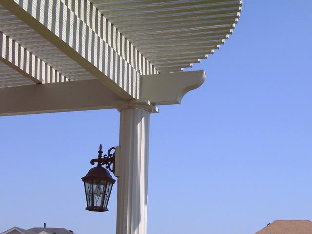 Pergolas, Arbors, and Gazebos beach-style-patio