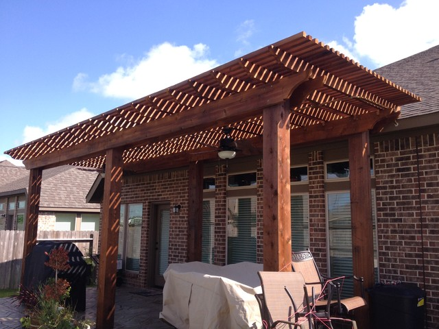 Pergolas Arbors And Gazebos Traditional Patio