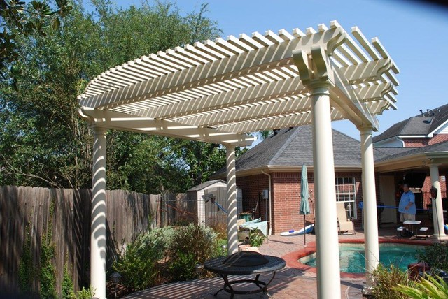 how to build covered all weather patio
