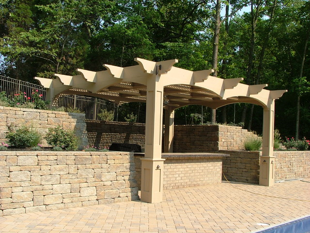 Pergolas traditional patio cincinnati by ohio for Pergola images houzz