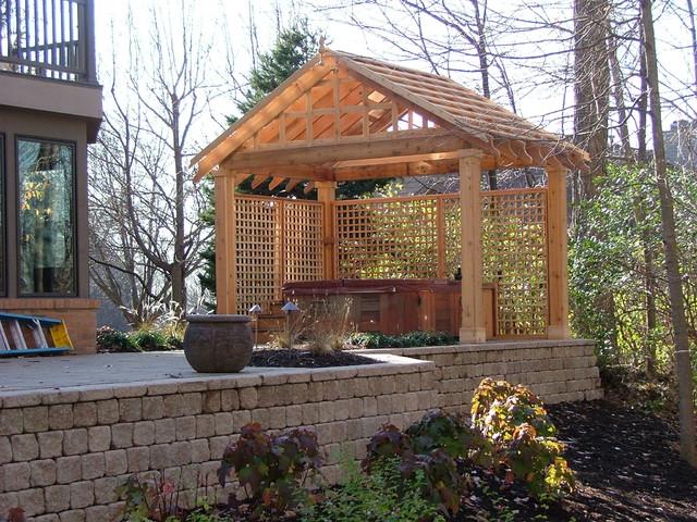 Pergolas traditional-patio