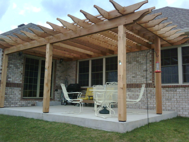 Pergolas Traditional Patio Indianapolis by The