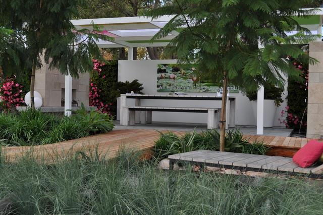 Perth display garden contemporary patio perth by for Garden design perth