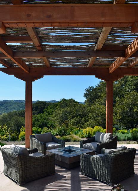 Petaluma Residence modern-patio