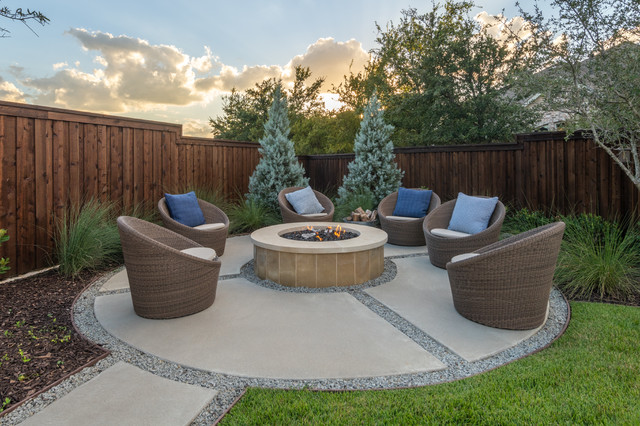 9 Fresh Concrete Patio Ideas For Yards