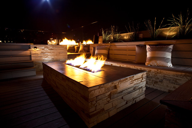 Pittsburgh Roof Deck modern-patio