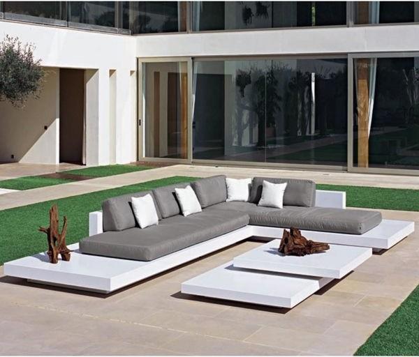 Platform Outdoor Sectional Sofa - Contemporary - Patio - Chicago ...
