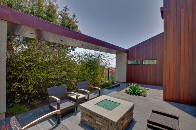 Poinsettia contemporary-patio
